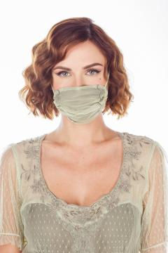 Breathable Dressy Face Mask in Mint by Nataya