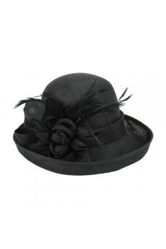 Flapper Hat in Black