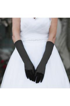 Above Elbow Gloves in Black