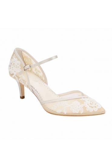 Bridal Heels in Nude Ivory